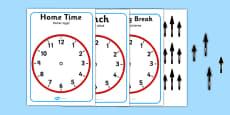 Split Pin Display Clocks Polish Translation