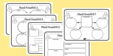 Story Map Activity Sheets Pack Romanian