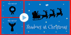 Christmas Themed Shadow PowerPoint