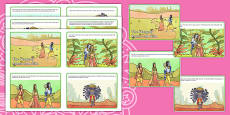 The Story of Rama and Sita Cards