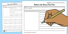 Robert the Bruce Key Figures Differentiated Fact File Template