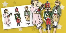 The Nutcracker Stick Puppets