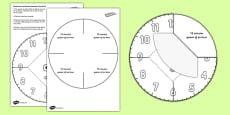 Interactive Simple Clock Visual Aid