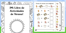 Summer Activity Booklet Spanish / Español
