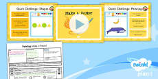 PlanIt - Computing Year 1 - Painting Lesson 6: Make a Poster Lesson Pack