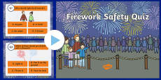 Firework Safety Quiz PowerPoint