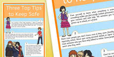 Keeping Yourself Safe: Advice for Protecting Young People from Sexual Exploitation CSE