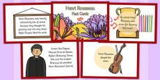 Henri Rousseau Fact Cards