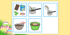 5 Step Sequencing Cards - Making Crispie Cakes