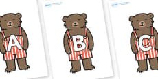 A-Z Alphabet on Little Bear