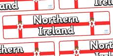 Northern Ireland Display Banner