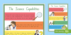 New Zealand Science Capabilities Large Information Poster