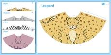 Safari Animal Cone Characters