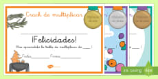 Diplomas: Crack de multiplicar