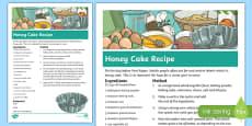 Rosh Hashanah Honey Cake Recipe