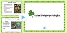 St. Patrick's Day Informative PowerPoint Polish