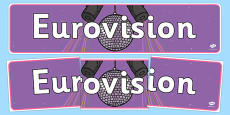 Eurovision Display Banner