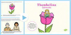 Thumbelina PowerPoint Polish Translation
