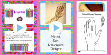 Diwali Mehndi Patterns EYFS Adult Input Plan and Resource Pack