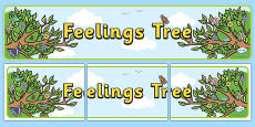 Feelings Tree Display Banner