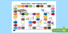 Irish Language Week Colours Game