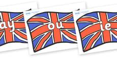 Phase 5 Phonemes on Union Jacks