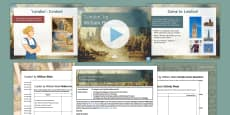 GCSE Poetry 'London' Lesson Pack