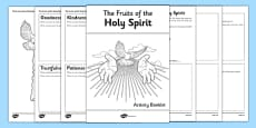 The Fruits of the Holy Spirit Activity Booklet