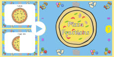 Pizza Fractions PowerPoint