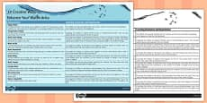 10 Creative Ways to Enhance Your Water Area Information Sheet