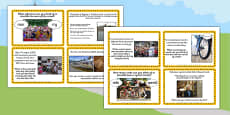 Tour de France Literacy Challenge Cards