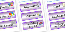 Chameleon Star Constellation Themed Editable Classroom Resource Labels