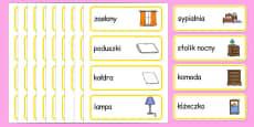 Home Word Cards Polish