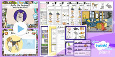 PlanIt - French Year 3 - Family and Friends Lesson 2: Pets Lesson Pack