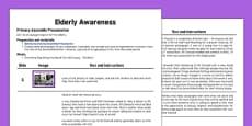 Elderly Awareness Assembly Script