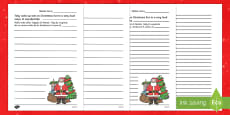 Christmas Story Starter Father Christmas English/Italian