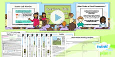 PlanIt - Computing Year 2 - Using and Applying Skills Lesson 4: Retrieve, Edit and Present Lesson Pack