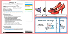 EYFS The Elves and the Shoemaker Storytelling Dough Adult Input Plan and Resource Pack