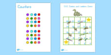 Snakes and Ladders CVC 1-20