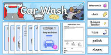 Car Wash Role Play Pack