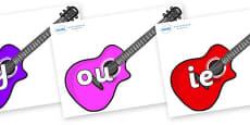 Phase 5 Phonemes on Guitars