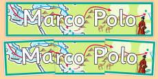 Marco Polo Display Banner