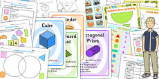 KS3 Maths Shapes Catch Up Resource Pack