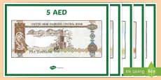UAE Money Display Posters