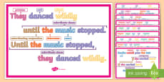 Subordinating Conjunctions KS2: Features of Sentences Display Posters