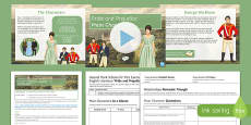 Pride and Prejudice Lesson Pack 1: Main Characters