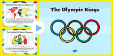 History of the Olympic Rings PowerPoint