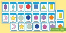 * NEW * Figuri 2D Cartonașe