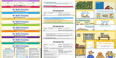 EYFS Bumper Planning and Resource Pack to Support Teaching on Mr Wolf's Pancakes