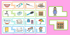 Everyday Activities Matching Game